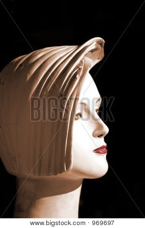 Mannequin Head Shot