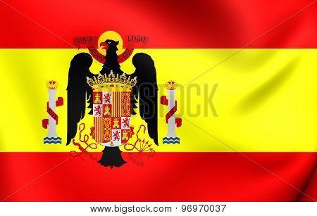Flag Of Spain (1945-1977)