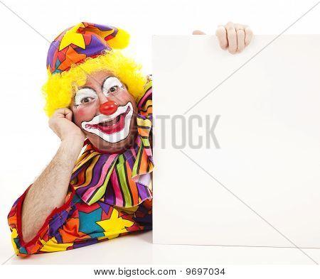 Reclining Clown
