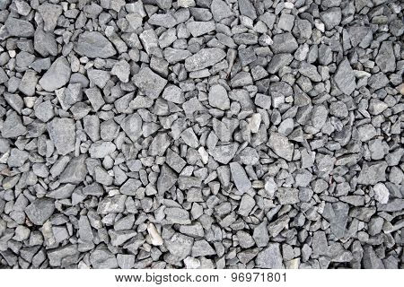 Texture Gray sharp stones  Grades abstract background