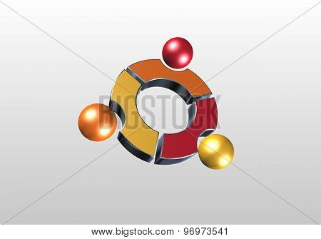 Circle and sphere