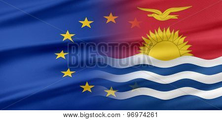 European Union and Kiribati.