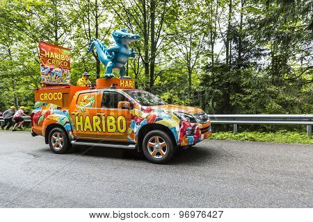 Haribo Vehicle - Tour De France 2014