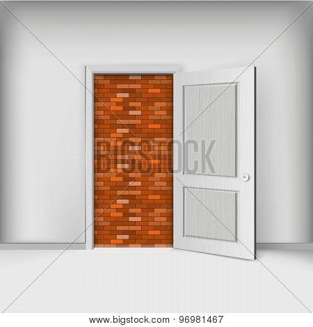 Closed Door, Brickwork Exit