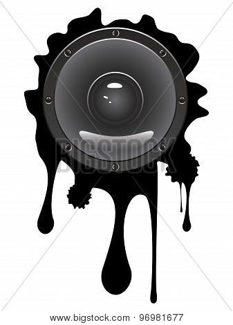Grunge Audio Speaker