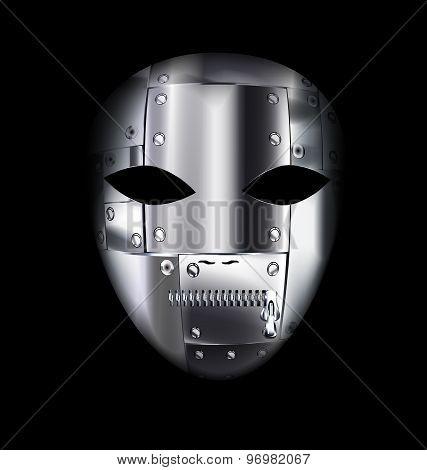 Carnival Metal Mask