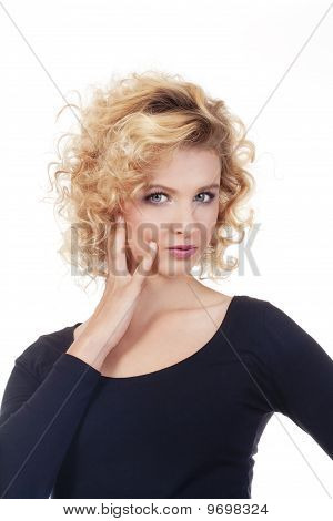 Young Woman Looking