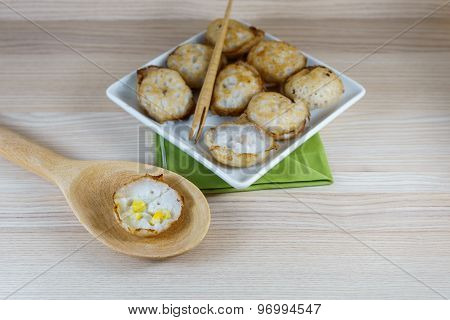 Kanom Krok Is Traditional Thai Sweetmeat