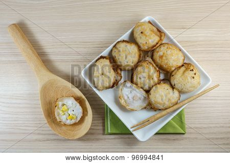 Kanom Krok Is A Kind Of Thai Sweetmeat