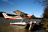 Float plane on the Grand