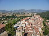 View of Frias, Burgos, Spain poster