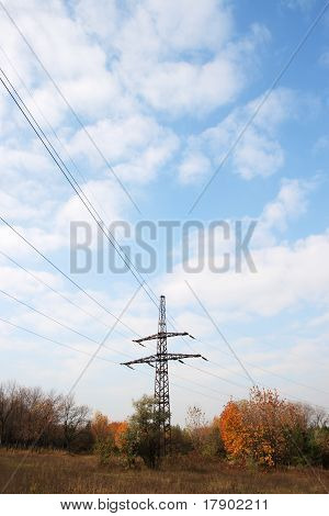 Electric Tower Poles