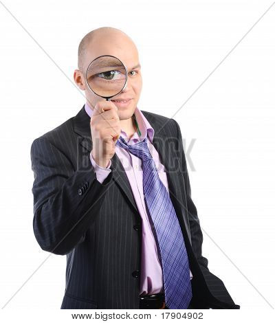 Businessman in a suit