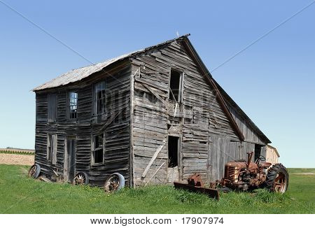 old abandoned homestead