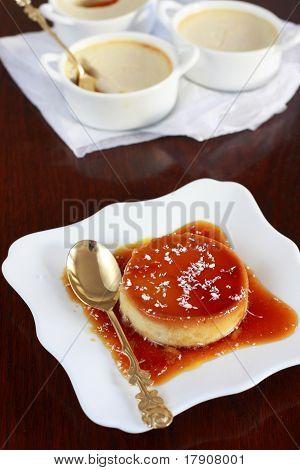 Coconut Crème Caramel