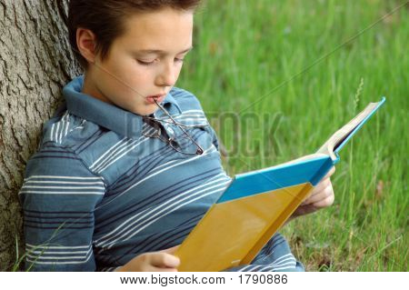 Young Kid Reading