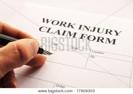 Lesión de trabajo