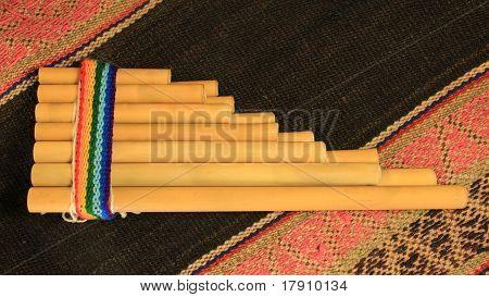 Andean Pan Flute (Zampoña)