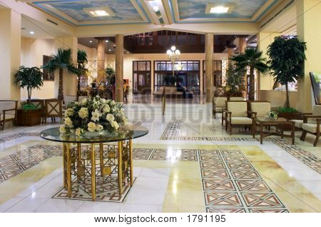 Hall In Hotel
