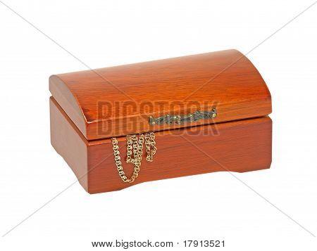 Jewlery Wooden Chest.