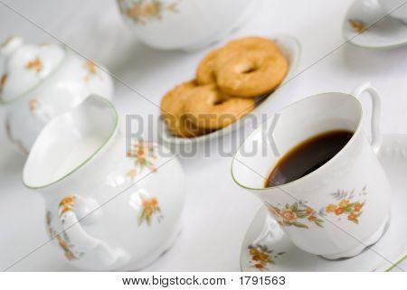 Tee oder Kaffee-Set