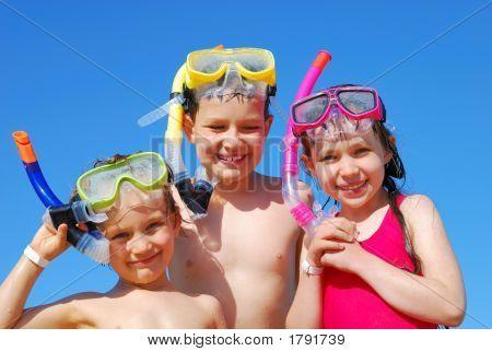 Children With Snorkels