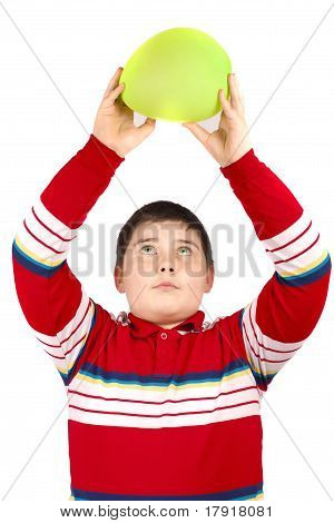 Boy With One Balloon