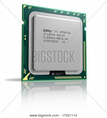 Modern multicore CPU