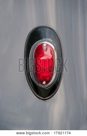 Vintage car?s taillight