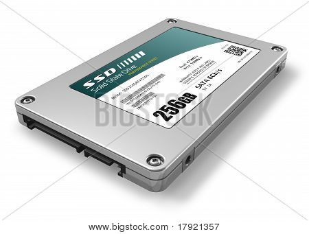 256GB de disco de estado sólido (SSD)