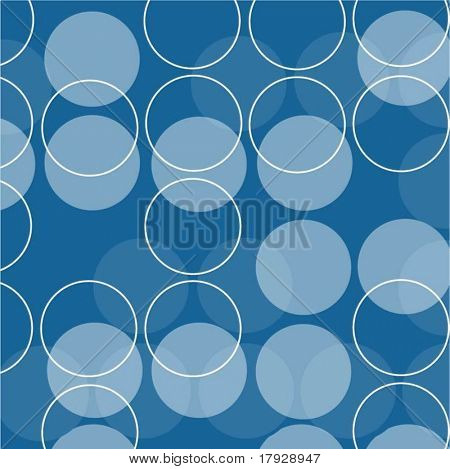 Retro circles - vector image