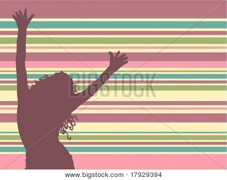 Lets dance - vector