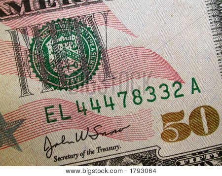 Billete de cincuenta dólares