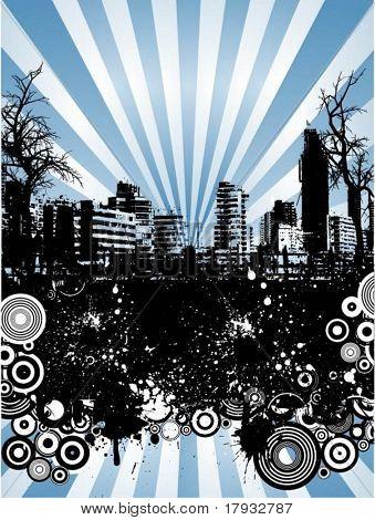 Urban grunge - vector