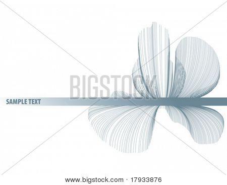 Fondo abstracto ornamento