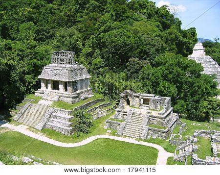 Maya de Palenque ruinas monumentos mayas Chiapas Mexico