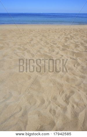 beach sand perspective  coastline shore