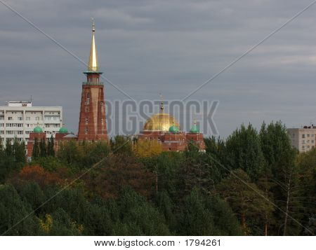 Mosque, Samara City