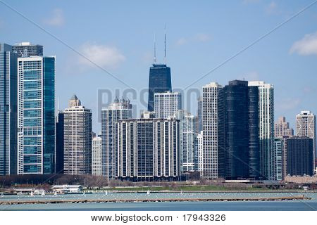 View On Downtown Chicago