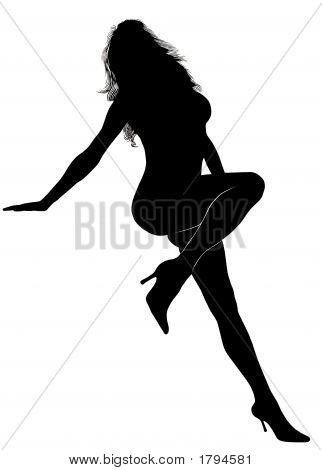 Woman Silhouette-016