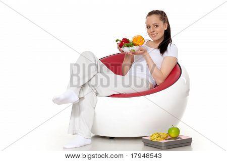 Concept Of Healthy Food. .