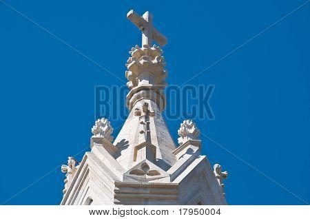 Temple of Calvary. Molfetta. Apulia.