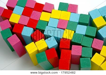 MULTI COLOR WOOD TOY