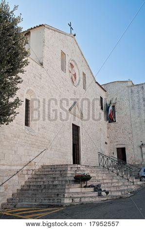 St. Bernardino Church. Molfetta. Apulia.