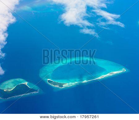 Blue Paradise Landscape
