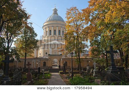Trinity Alexander Nevsky Lavra