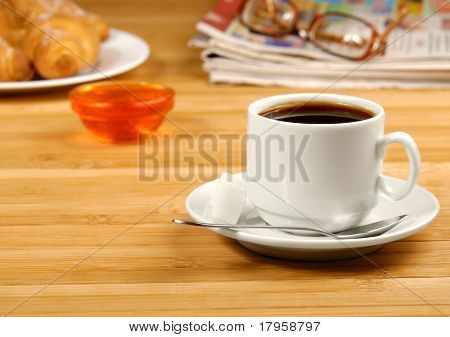 Coffe, Glasses, News