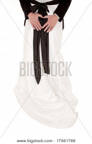 Heart On Back Bride