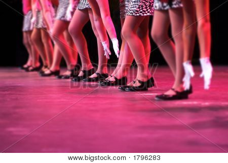 Dancing On Stage - Strutting Your Stuff