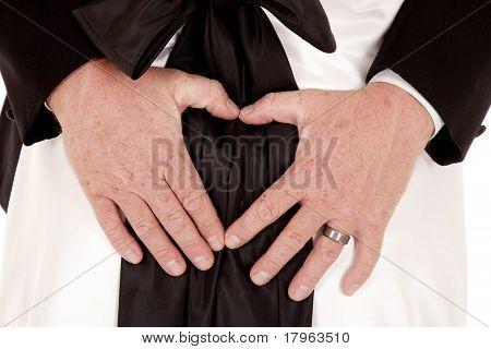 Close Up Heart Wedding